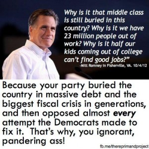 Romney is a ignorant pandering ass