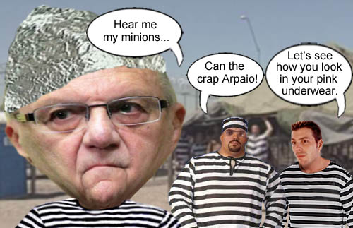 The inmates of Tent City want a pink underwear fashion show from their new resident, soon to be former Maricopa County Sheriff Joe Arpaio.