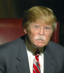 John Bolton with a Donald Trump makeover.