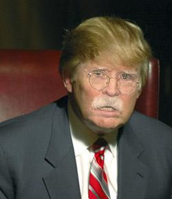 John Bolton with a Donald Trump makeover.