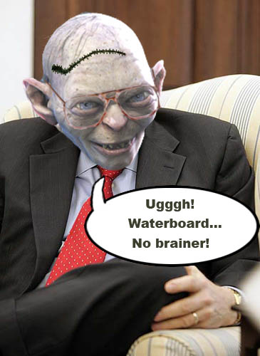 Dick Cheney says waterboarding is a 'no brainer'.