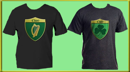 St. Patrick's Day is approaching. Get your Irish on with Ireland (Eire) gear from the Cyphernaut store. Erin go bragh!