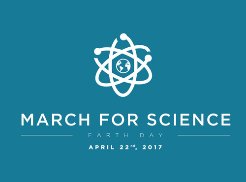 March for Science, Earth Day, April 22nd, 2017.