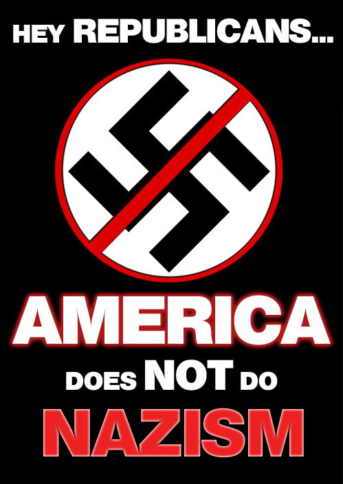 America does NOT do Nazism!